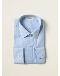 Z Zegna Camisa - Azul
