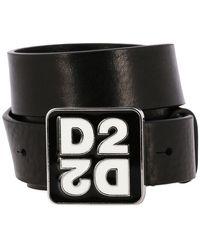 DSquared² Men's Belt - Black