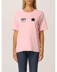 Chiara Ferragni Camiseta - Rosa