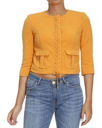 Elisabetta Franchi - Blazer Suit Jacket Woman - Lyst
