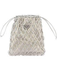 1d2da8d67563 Prada Mini Bag Shoulder Bag Women in Blue - Lyst