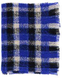 Woolrich Scarf Women - Blue