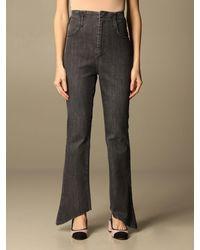 FEDERICA TOSI Jeans - Bleu