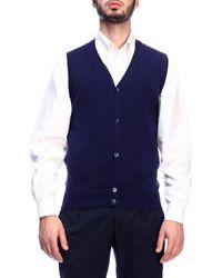 Cruciani Men's Sweater - Blue