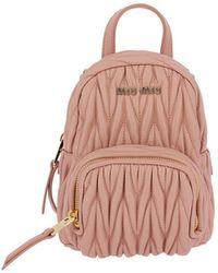 Miu Miu | Backpack Shoulder Bag Women | Lyst
