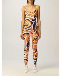 Emilio Pucci Jumpsuits - Orange