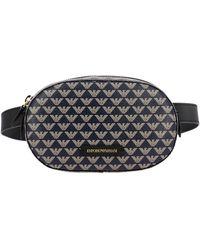 Emporio Armani Women's Belt Bag - Blue