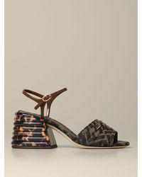 Fendi High Heel Shoes - Multicolour