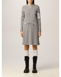 Thom Browne Vestido - Gris