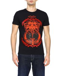 Cesare Paciotti T-shirt Men - Black