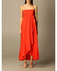 Twin Set Dress - Red