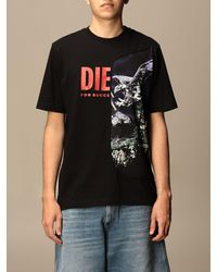 DIESEL Camiseta - Negro