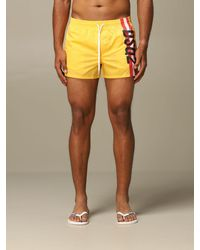 DSquared² Swimsuit - Yellow