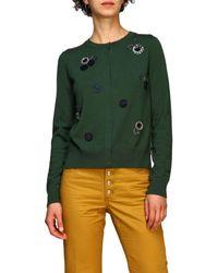 Tory Burch Women's Cardigan - Green