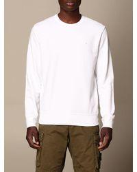 Stone Island Sweatshirt - Weiß
