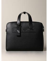 Emporio Armani Shoulder Bag - Black