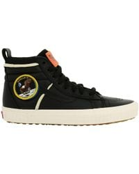 Vans - Space Voyager Nasa Sneakers Sk8-hi 46 In Leather With Patch Apollo 11 - Lyst