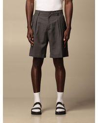 Low Brand Pantaloncino con tasche a filo - Multicolore
