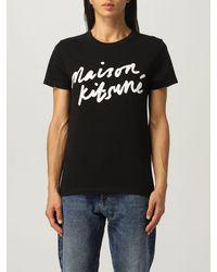 Maison Kitsuné Camiseta maison kitsunÉ - Negro