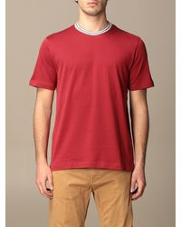 Eleventy T-shirt - Red