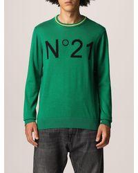N°21 Pull - Vert