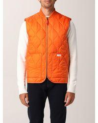 Fay Suit Vest - Orange