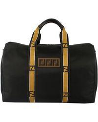 Fendi Men's Travel Bag - Black