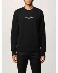 Fred Perry Sweatshirt - Noir