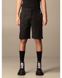 Les Hommes Pantaloncino jogging - Nero