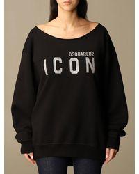 DSquared² Sweat-Shirt - Noir