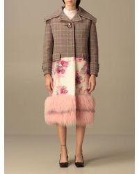 Prada Manteau - Multicolore