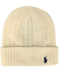 Polo Ralph Lauren Women's Hat - Natural