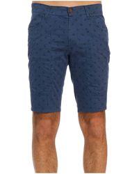 paneled shorts - Blue Jeckerson w7R8dghm