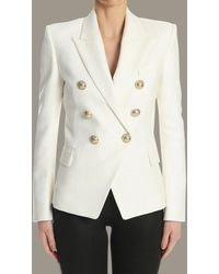 Balmain Jacket - White