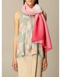 Emporio Armani Scarf - Pink