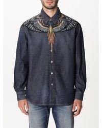 Marcelo Burlon Shirt - Blue