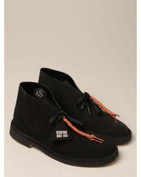 Clarks Desert boot originals in suede - Nero