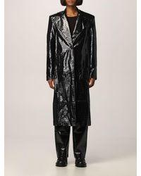 ROTATE BIRGER CHRISTENSEN Coat - Black