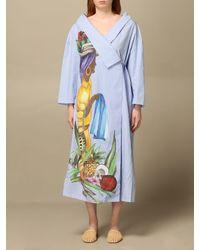 Stella Jean Dress - Blue