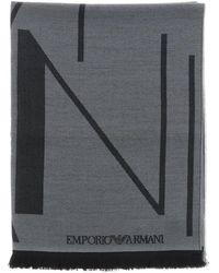 Emporio Armani Scarf - Grey