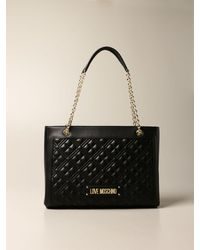Love Moschino Tote Bags - Black