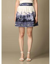 Twin Set Skirt - Blue