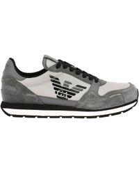 Emporio Armani - Sneakers Men - Lyst