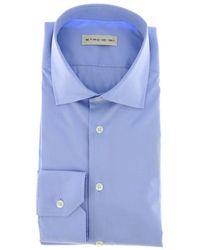 Etro Men's Shirt - Blue