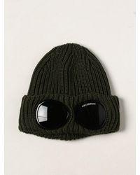 C.P. Company Cappello a berretto goggle con lenti a passamontagna - Neutro