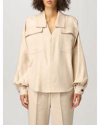 Erika Cavallini Semi Couture Shirt - Natural