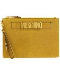Boutique Moschino Clutch Women - Yellow