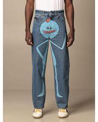 Gcds Jeans - Azul