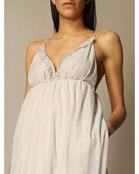 Manila Grace Dress - Natural