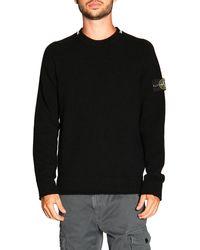 Stone Island Sweater - Black